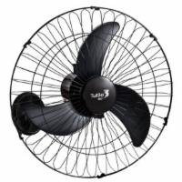 Ventilador de Parede 50cm Tufao 3-pas 3-velocidades Preto Loren Sid