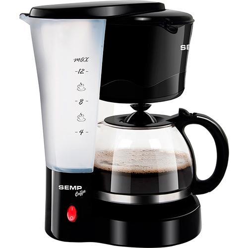 Cafeteira Eletrica 12 Xicaras Cf3015pr2 Preto Semp Toshiba