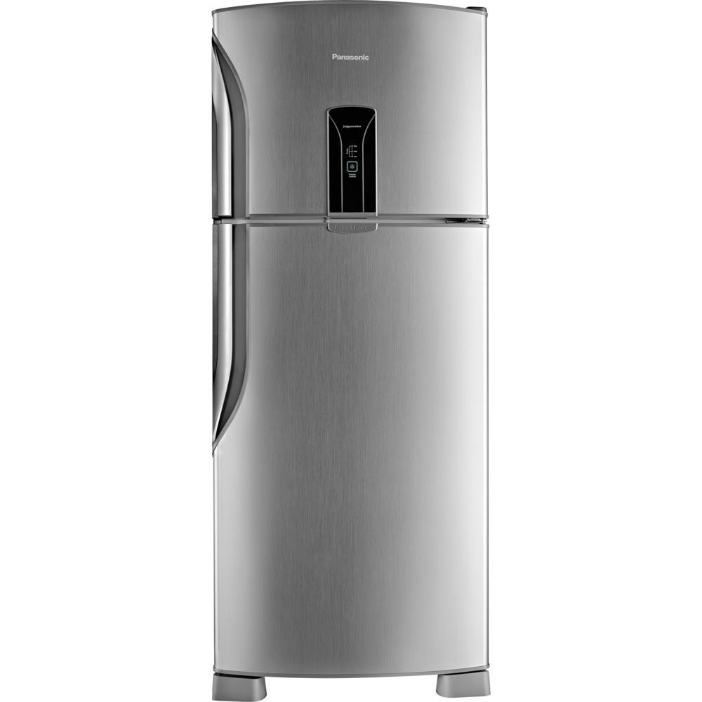 Refrigerador Panasonic Duplex Nr-bt47bd2xb 435litros Frost Free Aco Escovado