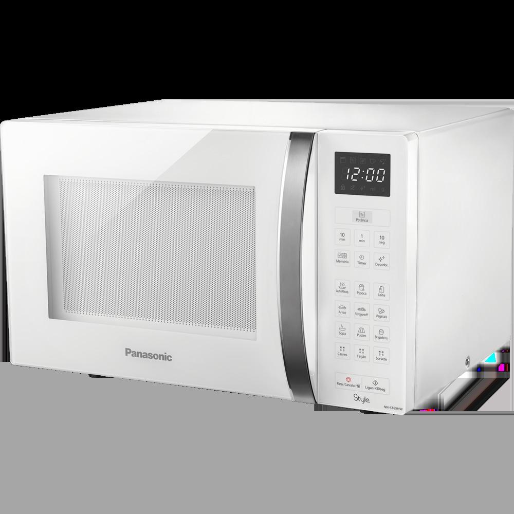 Forno Micro Ondas 25 Nn-st35hwru Branco Panasonic