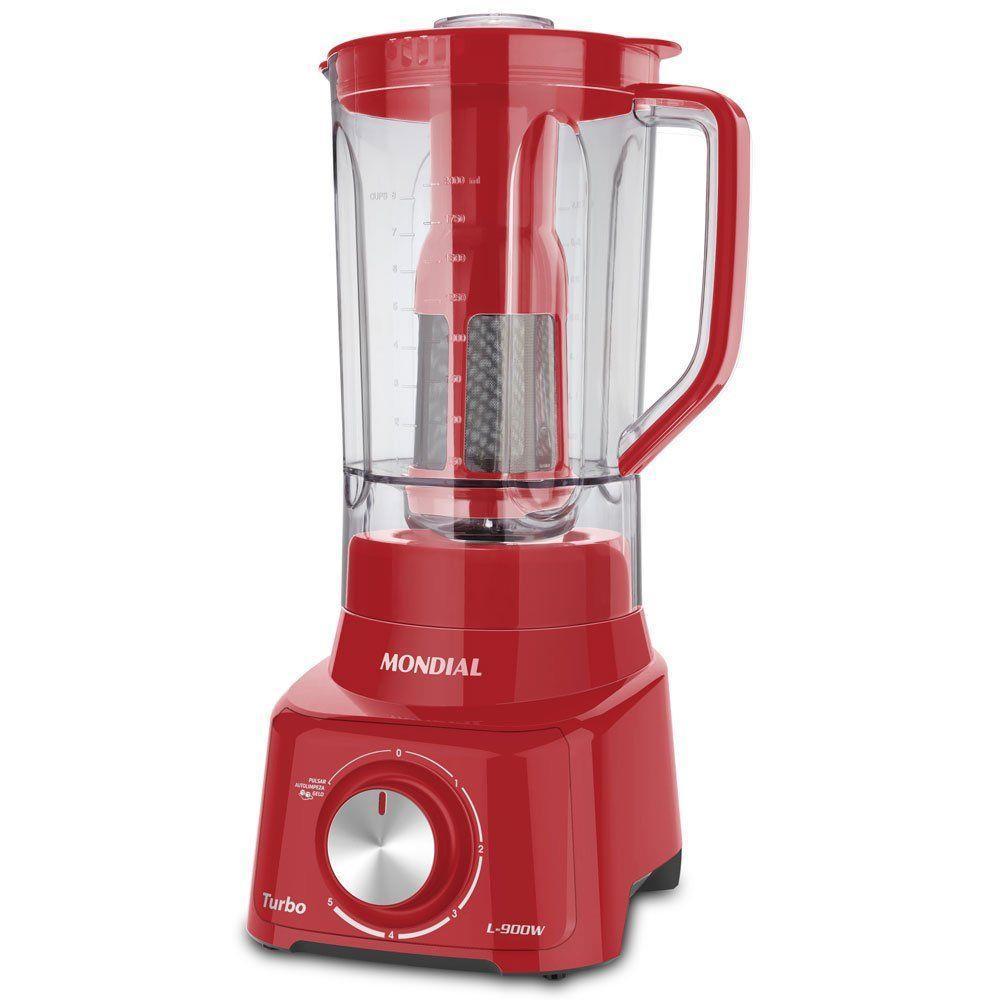 Liquidificador L-900 2,7 Litros 900w Red Mondial