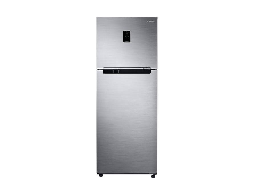 Refrigerador Samsung Inverter Rt38k5530s8/bz 384 Litros Frost Free Prata