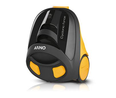 Aspirador Cyfo Cyclonic Force Ap5595b2 1,2 Litros Preto/amarelo Arno